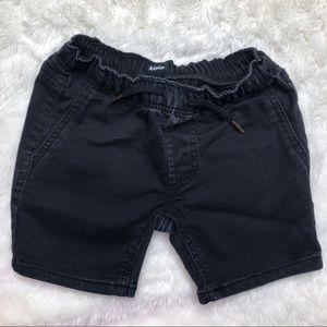 Hudson Black Denim Shorts Size 3T